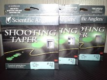 SCIENTIFIC ANGLERS SHOOTING TAPER SINKING