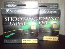 SCIENTIFIC ANGLERS FLOATING SHOOTING  TAPER