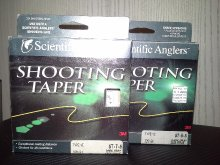 SCIENTIFIC ANGLERS SINKING SHOOTING TAPER