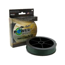 SHIMANO POWER PRO SUPER 8 SLICK V2 MOSS GREEN 275M